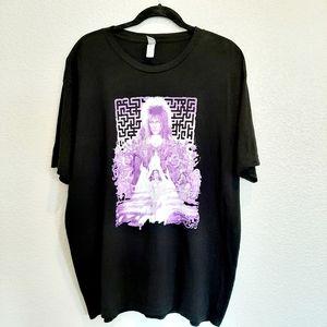 Pan's Labyrinth Black & Purple Bowie T-Shirt 2XL